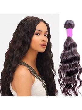 Natural Wave Human Hair Weave/Weft 1 PC