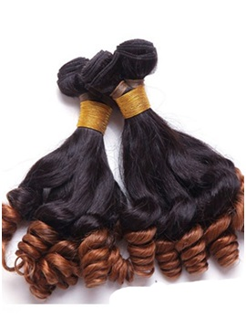 Human Hair Curly Weave 1 PC 14 Inches