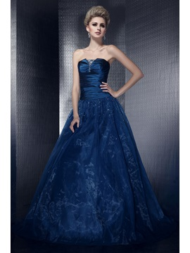 Classic A-Line Floor-Length Strapless Lace-up Sequins Dasha's Ball Gown/Quinceanera Dress & Ball Gown Dresses for sale