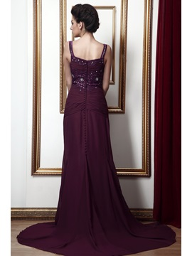 Charming Sheath/Column Spaghetti Straps Floor-Length Taline's Mother of the Bride Dress With Jacket/Shawl
