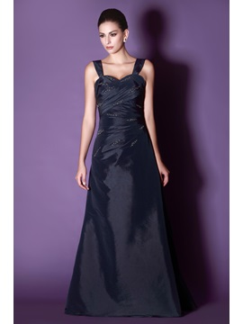 Beaded A-line Sweetheart Neckline Floor-Length Taline's Mother of the Bride Dress With Jacket/Shawl