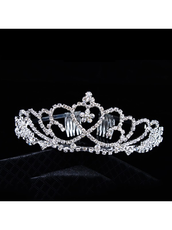 Faddish Alloy with Rhinestone Wedding Bridal comb