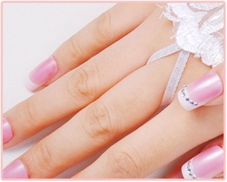 Stylish Long Finger-less Satin with Lace Applique and Bowknot Wedding Glove