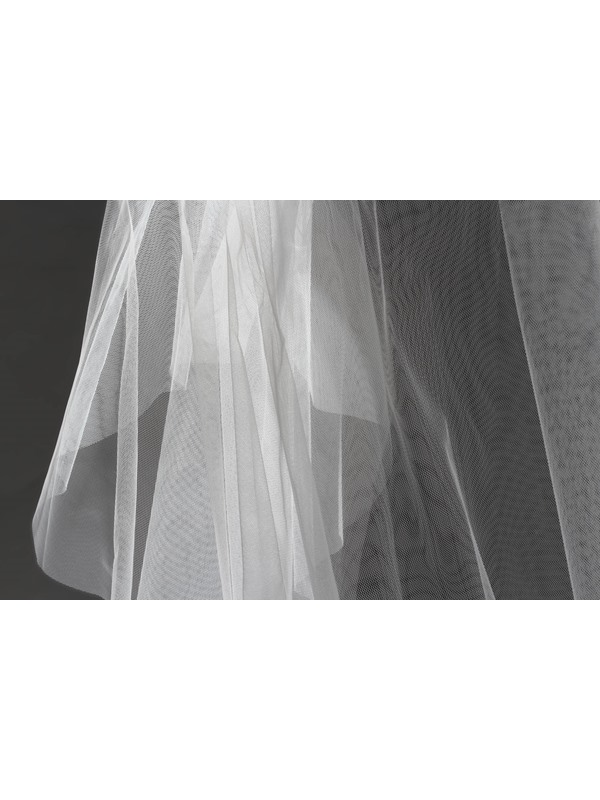 2 LayerFingertip Wedding Bridal Veil