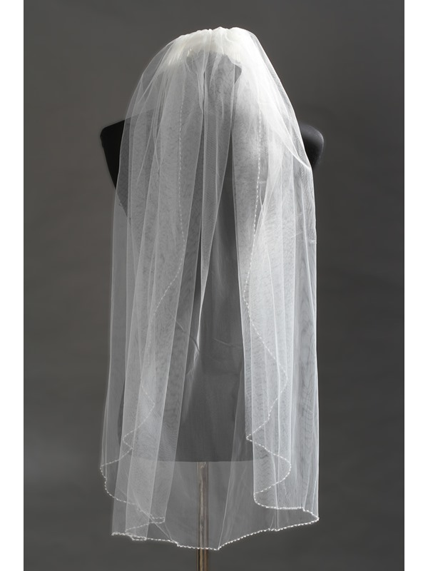 Faddish Elbow Tull Wedding Bridal Veil