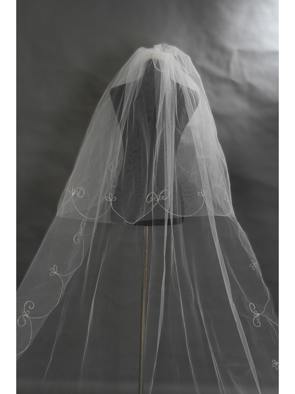 Royal Length Wedding Bridal Veil