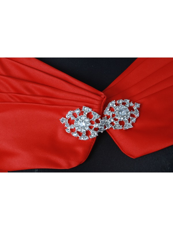 Lady's Evening Shawl with Rhinestone Button