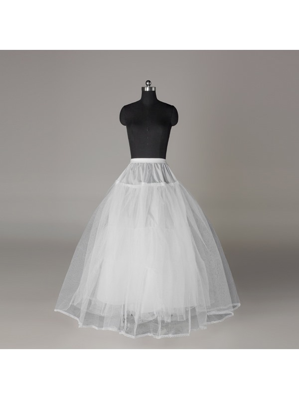 Elegant Three Layers Gauze Ball Gown Wedding Petticoat