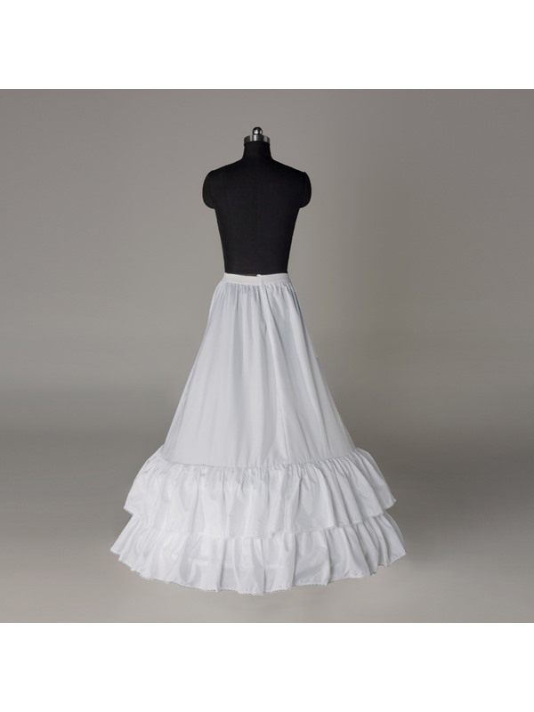 Beautiful Flounced A-line Two Layers Two Steel Loops Wedding Petticoat