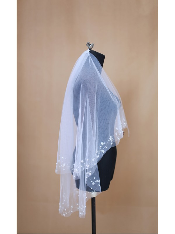 Elbow Length Wedding Veil