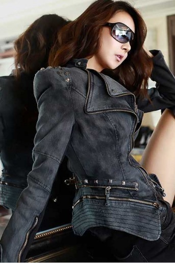 Stylish New Leisure Design Women's Long Sleeve Jean Jackets(3colors)(Free Shipping)