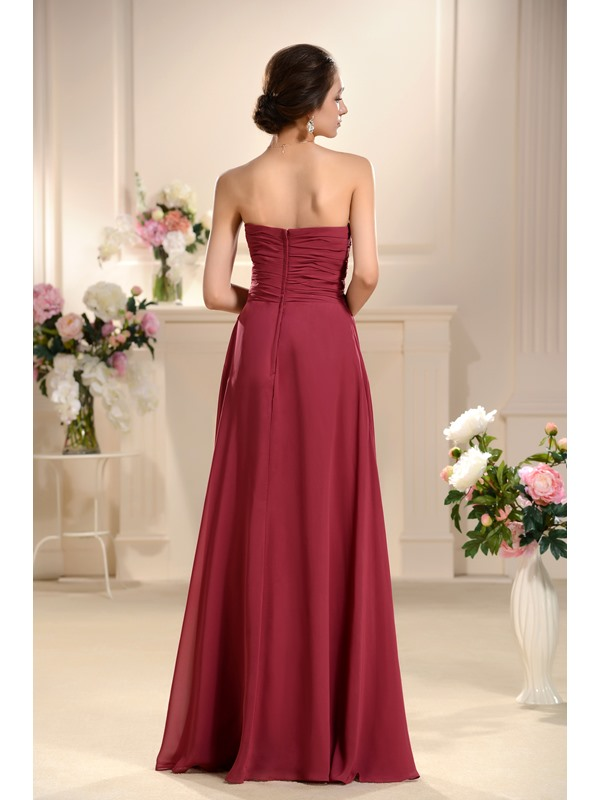 Strapless New Style Wholesale Bridesmaid Dress