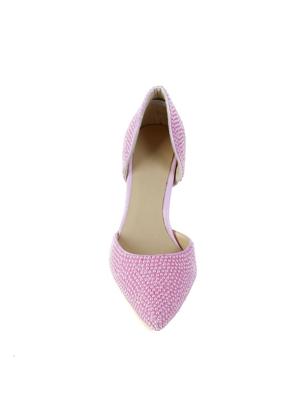 Pink Pearl Pointed-toe Wedding Shoes