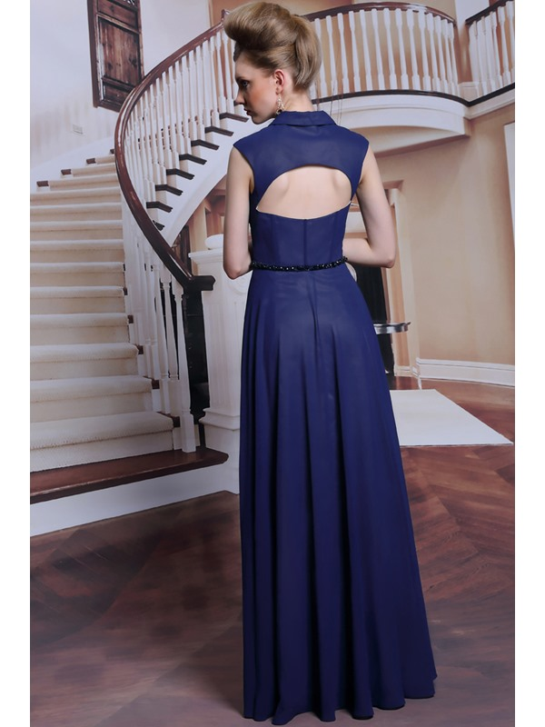 Sweetheart Neckline A-Line Floor Length Evening Dress