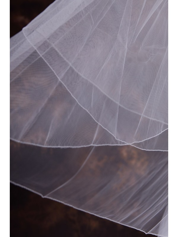 stain Edge Wedding Bridal Veil