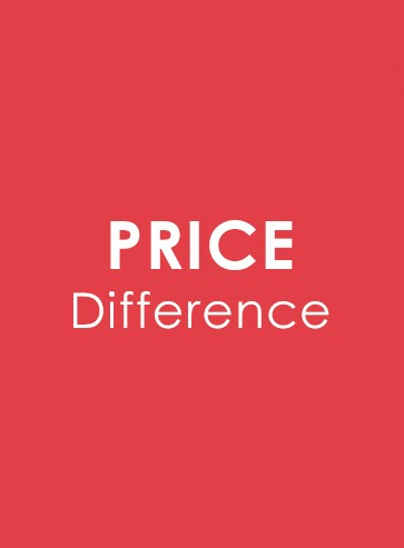 Price Difference(Free Shipping)
