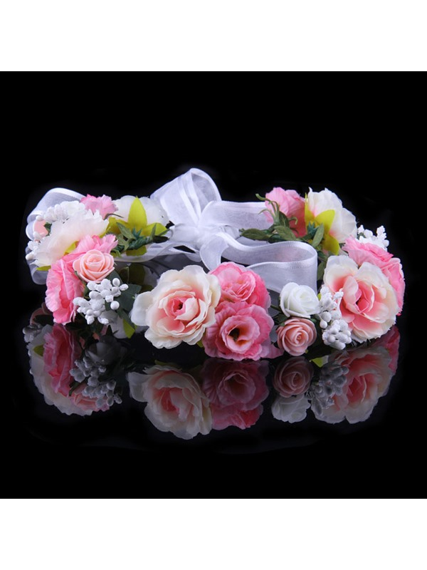 Multicolor DIY Flower High-Grade Manual Seaside Bridal Garland
