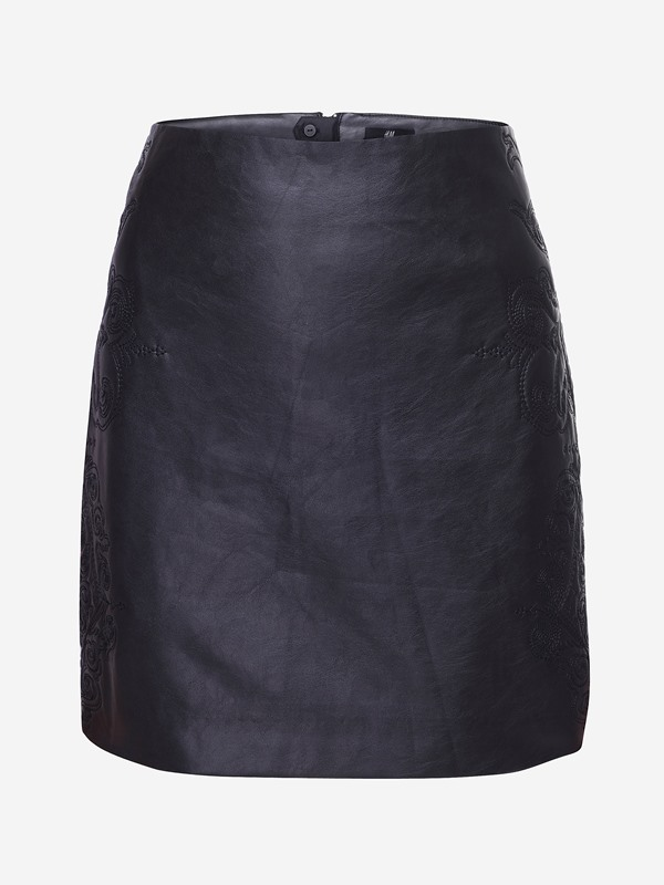Black Slim Sensual Embroidery Sheath Women Skirt(Free Shipping)