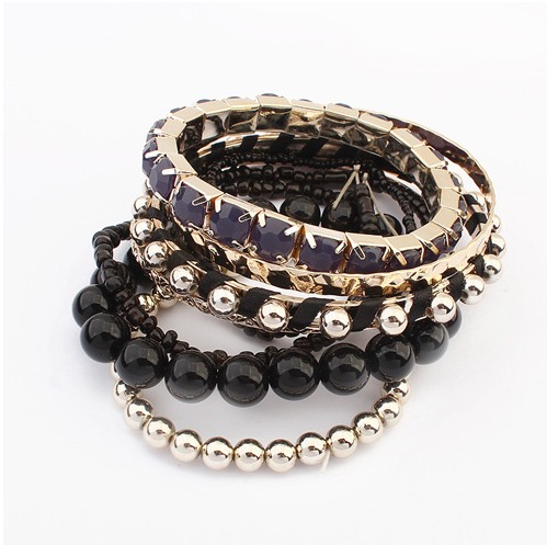 Multi Color Vigorous Beads Bohemia Style All matched Bracelets