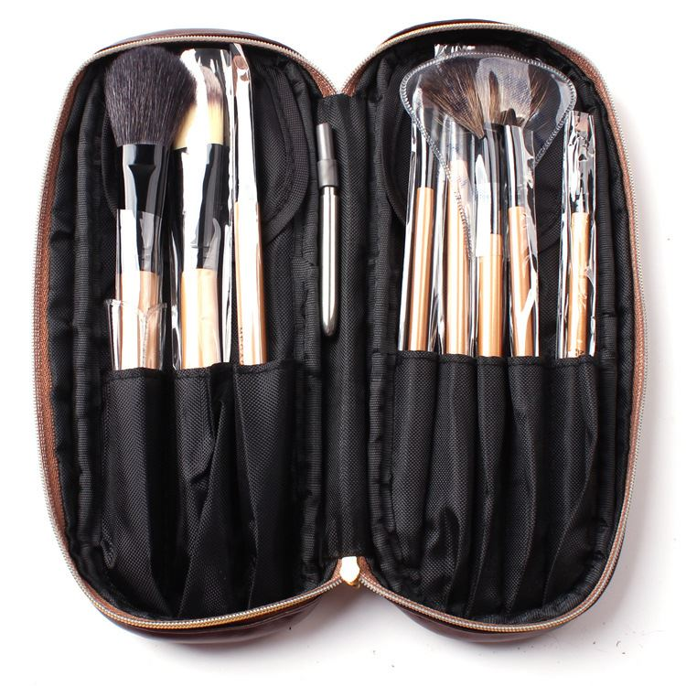 8Pcs Goat Hair Make Up Brush Set