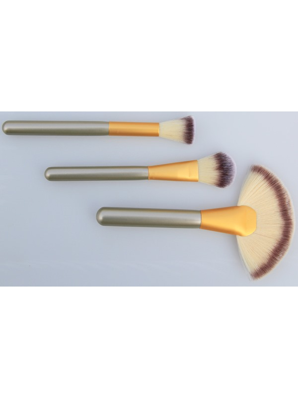 18 Pcs Animal Fibers Cosmetic Brush Set