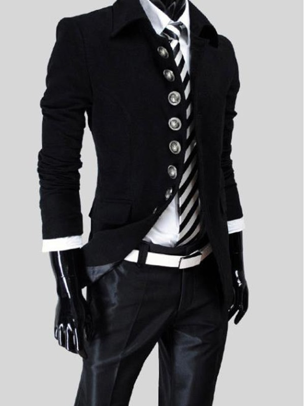 Lapel Single-Breasted Long Sleeve Trench Coat