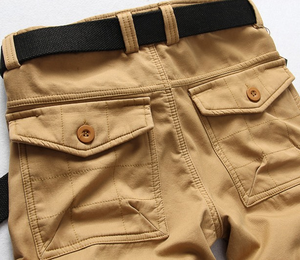 Men's Mid-Waist Casual Pants