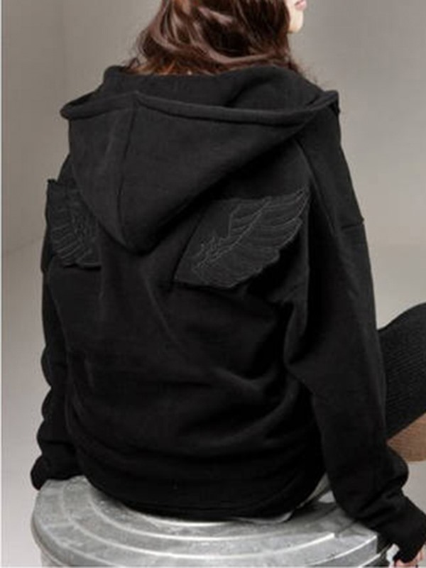 New Plus Size Long Sleeve Hoodie