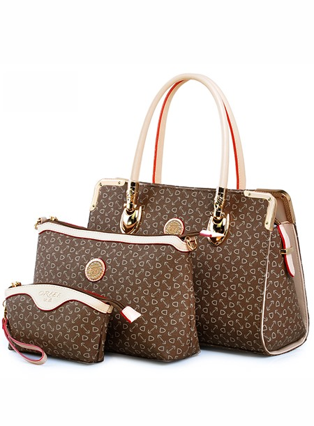 Graceful Arrow Printed Women Bag Set(3 pieces)