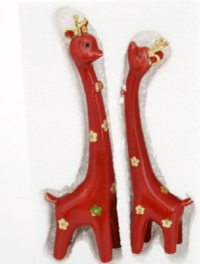 Cool Sell Cheap Creative Gift Couple Giraffe Ornaments With Stylish Simplicity