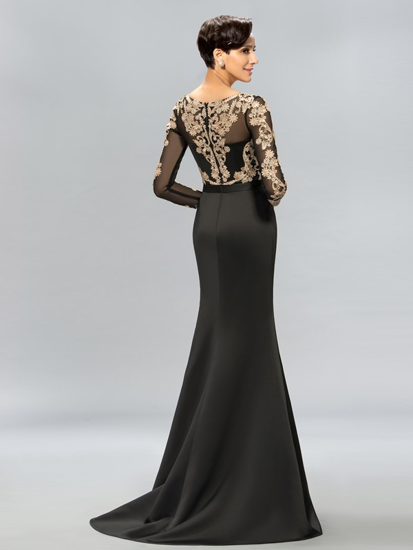 Lace Split-Front Long Evening Dress Designed(Free Shipping)