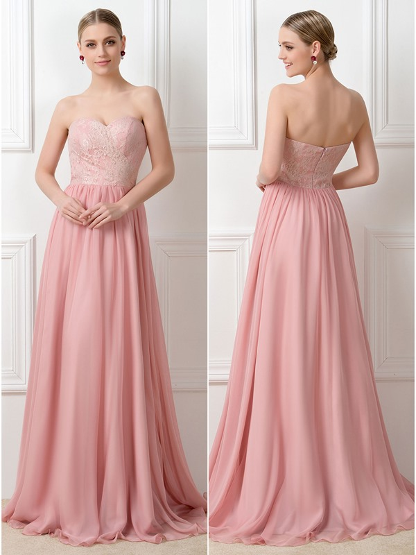 Beaded heart Floor Length A-Line Convertible Bridesmaid Dress