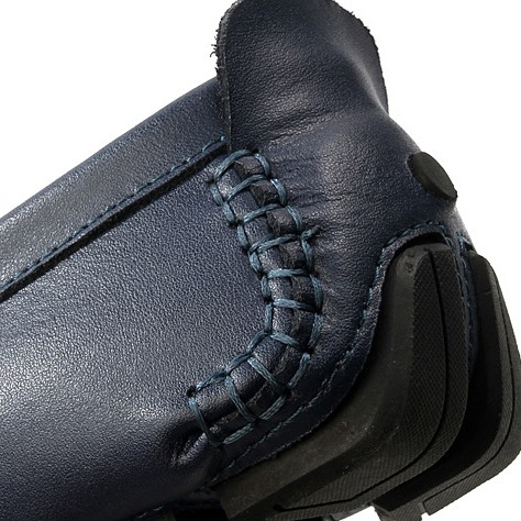 Patent Leather Solid Color Quilted Simple Men's Shoes