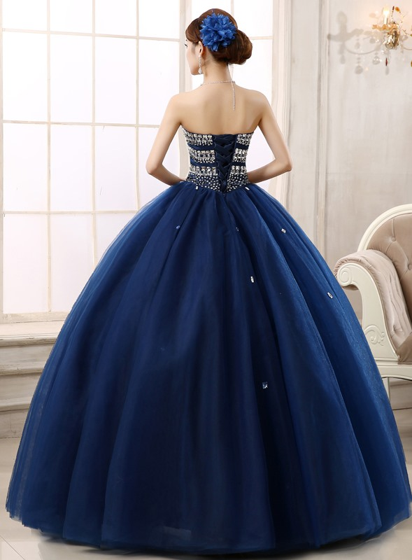 Gorgeous Sweetheart Beading A-Line Lace-up Quinceanera Dress