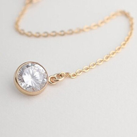Fashion Slim with Pendant Necklace