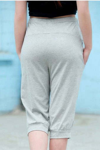 Relaxed Fit Bear Icon Maternity Pant