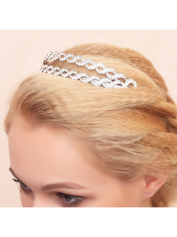 Exquisite Diamante Alloy Wedding Tiara