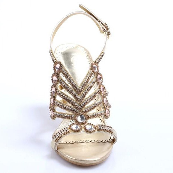 Chic Shiny T-Strap Heel Sandals(Free Shipping)