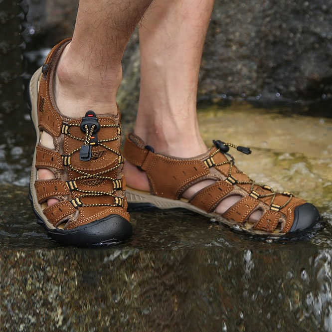 Lace-up Fisherman Sandals(Free Shipping)