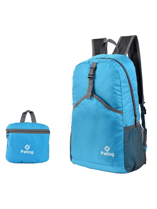 High Quality Fashion Waterproof Foldable Zip Hiking Daypack
