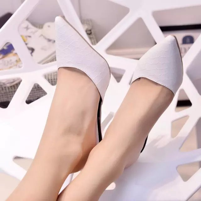 Pointed Toe Solid Color Heel Flip Flop