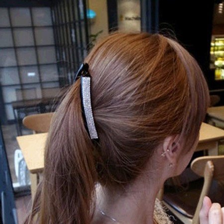 Elegant Multilayer Diamond Gathered Women's Hair Band