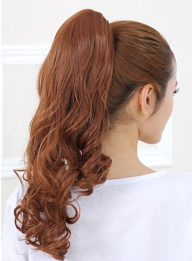 Long Wavy Synthetic Ponytail(Free Shipping)