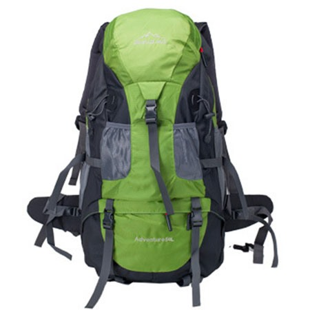 Fashion Nylon Zip Waterproof Mountaineering Bag