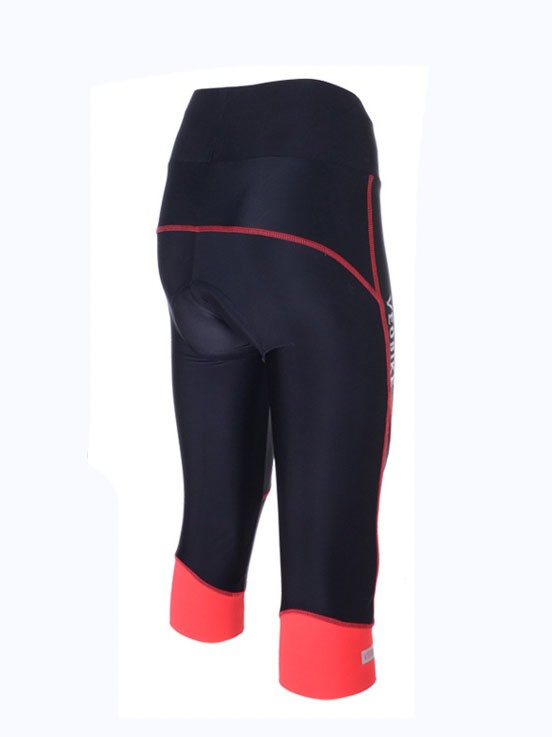 Nylon Breathable Women 3/4 Cycling Pants