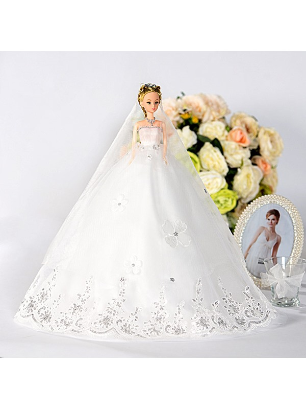 Adorable Princess Bridal Barbie Doll