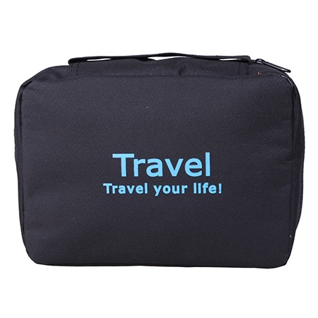 Hot Sale Waterproof Travel Letter Zipper Storage Bag