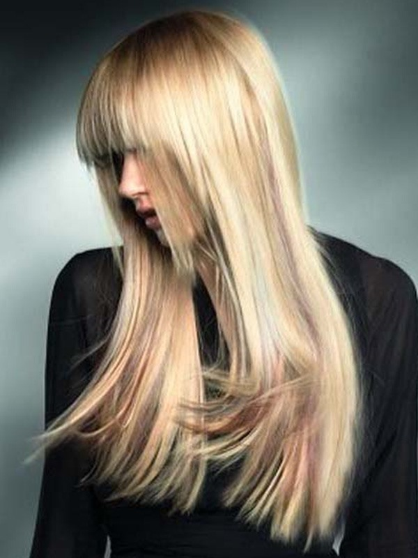 Elegant Long Straight 100% Human Hair 20 Inches Wig(Free Shipping)