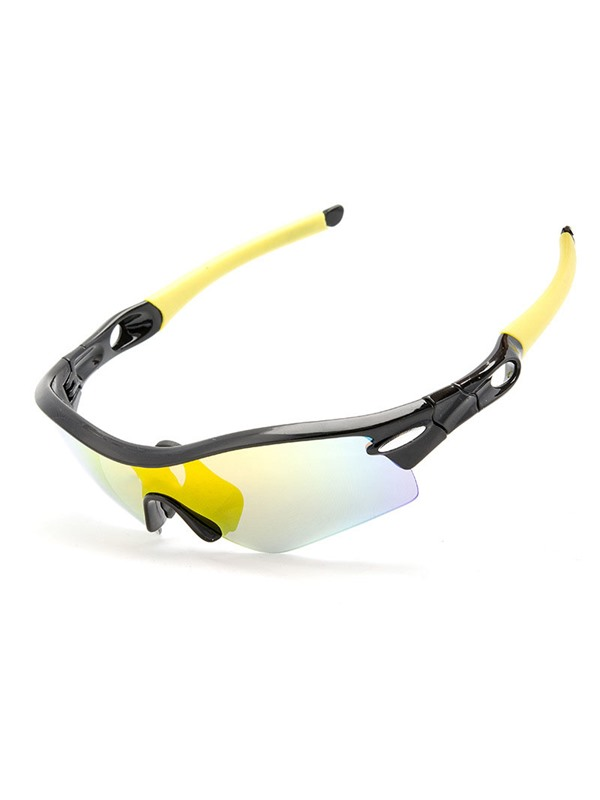 Changeable Nose Pad Cycling Polarized Sunglasses