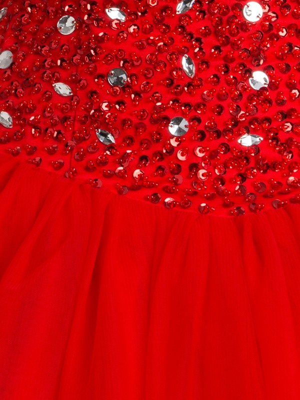 Sweetheart Sequins Beading Quinceanra Dress